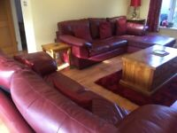 Leather Sofa, M&S