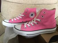 New – CONVERSE TRAINERS – A/S HI (High Top) – Size 6 – colour: PINK