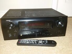 Denon Receiver/Amplifer. AVR 1910. Surround Sound with 7.1 channels. With Remote and room setup.