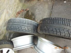 Tyres 205/45/16 as per photographs X 2 £9 each