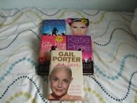 Katie Price hardback books