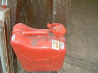 10 Litre Jerry Can (as new condition) just a bit dusty from sitting in the shed