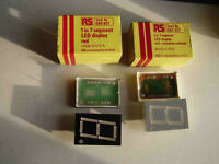 RS 7 segment LED displays red 1 inch