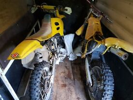 2 RM250 Motocrosers for sale