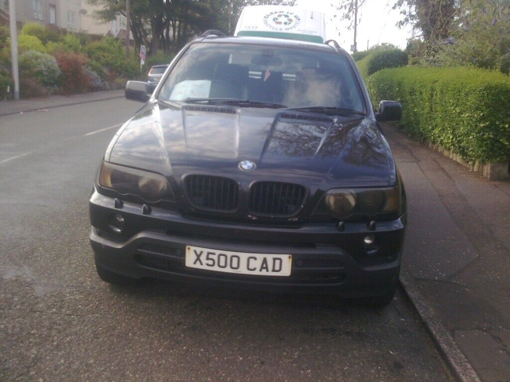 BMW X5 - BLACK COLOUR-CODED LIGHTS | in Kirkcaldy, Fife | Gumtree