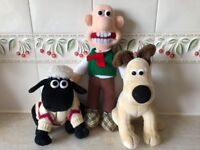 Vintage 1980s Wallace, Gromit and Shaun the Sheep