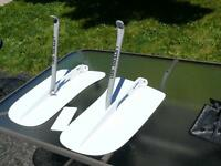 Trim tabs for inflatable boats