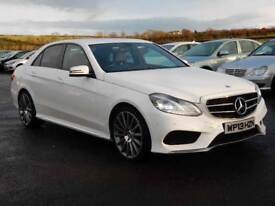2013 mercedes E220 cdi sport amg pack, top spec, face lift model excellent example motd sept 2018