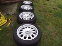 Set of 4 15'' BMW alloy wheels style 31 Rare