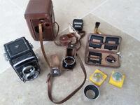 Rolleicord Va K3E Type 2 Twin Lens Reflex Camera (plus accessories)