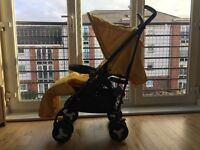 SILVER CROSS REFLEX PUSHCHAIR EXCELLENT CONDITION HARDLY USED OVER 70% OFF RRP!!!