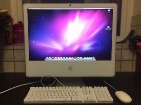 "Mac ""Core 2 Duo"" 24-inch late 2006 **ADOBE CS6 SUITE!** **NEEDS NEW GRAPHICS CARD**"