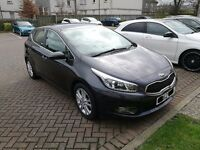 2012 KIA Cee'd 1.6 crdi 2 with over 3 years warranty and winter wheels.