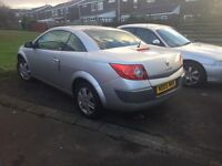 Renault megane cc. 1.6 with 10mnth M.O.T