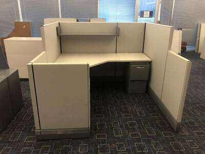 Used Office Cubicles Herman Miller Ao3 6x6 Cubicles