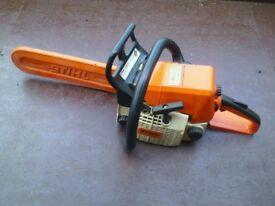 stihl chainsaw for sale