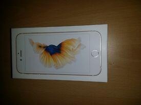 APPLE IPHONE 6S 16GB GOLD BRAND NEW