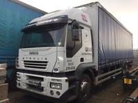Iveco stralis 26 ton curtain side truck 2005 spares or repairs