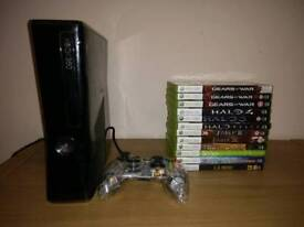 Xbox 360s 250gb hd and games £65