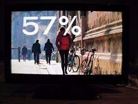 """TV LCD FLAT SCREEN TECHNIKA 32 """" FULL HD 1080 USB FREEVIEW"""