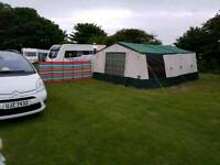 Conway royal delux trailer tent newly refurbished