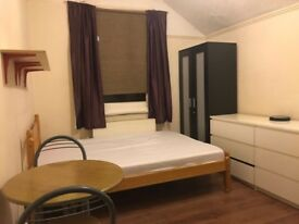 Available now. Very well located double room. All bills included