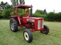 Vintage 1963 International Harvester B414 Diesel Tractor.