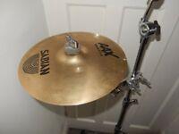 £120. Sabian 12 inch AAX Splash Cymbal with Gibralter SC-GCA Cymbal mount