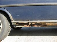 ROCKER PANEL  REPAIRED (from) $150