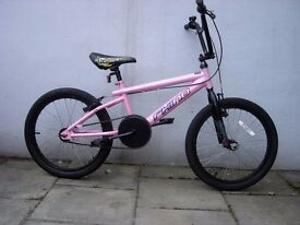Girls BMX by Rhino, Pink, Good Condition, Great for Kids 7 Years +,JUST SERVICED/ CHEAP PRICE!!!!!!!