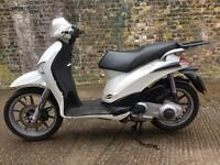 2010 Piaggio Liberty 125cc scooter learner legal 125 cc. Has long MOT.