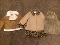 3-4 years girls jackets