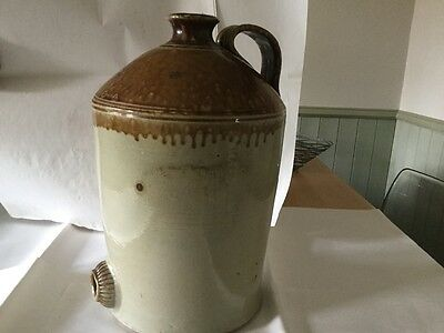 Old Stone Container 2 gallon with handle and traditional bung hole in the front