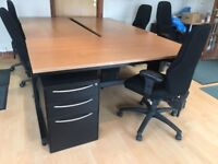 Office furniture clearout. Desks/Filing Cabinets/Chairs/Drawers - open to offers - prices from £10