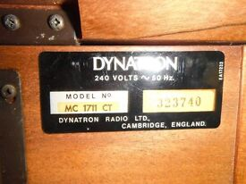 Dynatron MC 1711 CT record/cassette unit with speakers