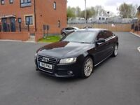2010 FACELIFT AUDI A5 2.0 TDI SLINE 170 5DOOR HPI CLEAR FSH FULL LEATHERS ELECTRIC SEATS PX WELCOME