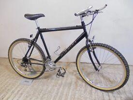 "Nishiki 90s Retro Mountain Bike Gents 21.5"" XL 4130 Cromoly Fully Working Low Used"