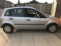 Ford Fiesta 2005 plate