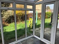 DISMANTLED Sunroom/conservatory 2.4m x 2.5m