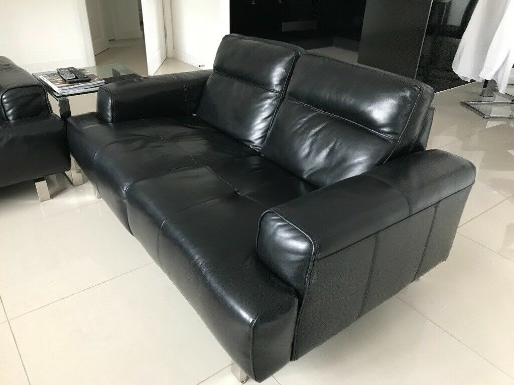 Black Leather Sofa Gumtree Perth