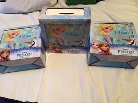 Elsa frozen piggy banks
