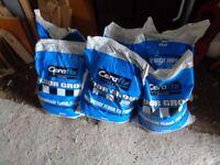 6 x 10kg Bags of Cerafix tile grout - grey