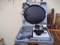 portable satellite reciever