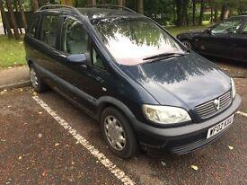 Vauxhall Zafira spares or repair still drives