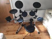 Axus Digital Electric Drum Kit plus stool and sticks
