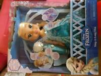 Singing Frozen Elsa doll Brand New in Box