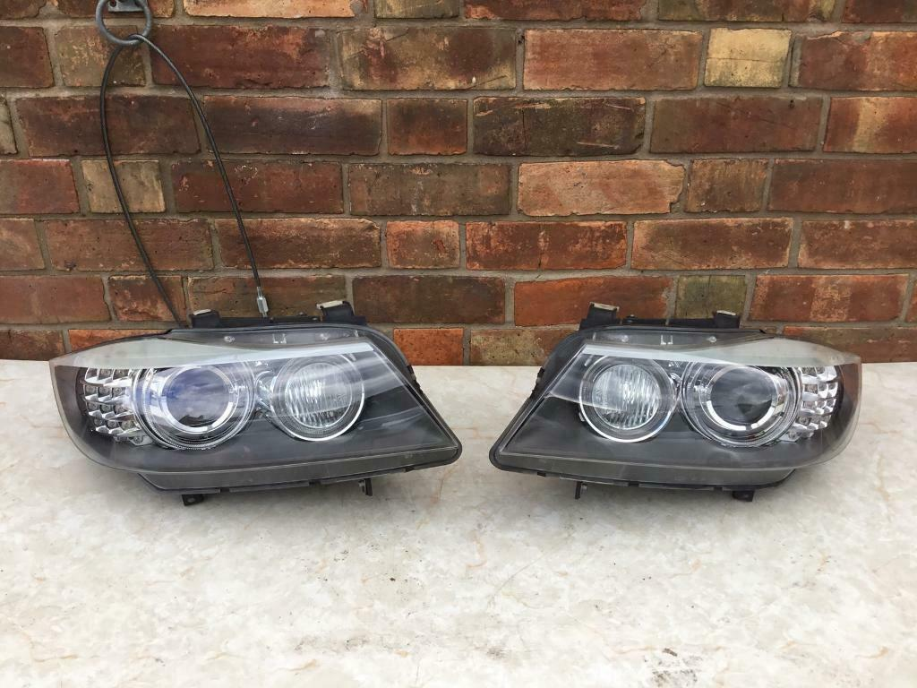 BMW 3 SERIES E90 E91 LCi XENON ADAPTIVE HEADLIGHTS PAIR COMPLETE ALL  BALLASTS 2009-2012 | in Coventry, West Midlands | Gumtree
