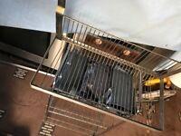Onion rack and Ikea plate rack