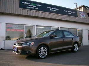 2011 Volkswagen Jetta DIESEL HIGHLINE,LEATHER,SUNROOF,ALLOYS,BLU