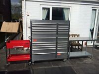 Snap-on tools & Roll cab tool box